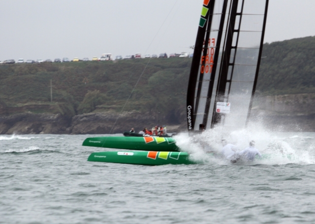 Groupama getting vaporized